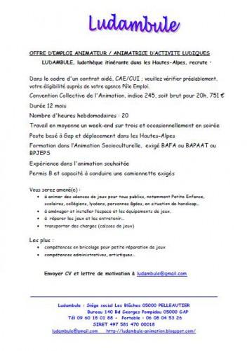 Offre d'emploi Animateur cae août 2014.JPG